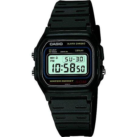 Relógio Casio Masculino Digital Preto W591VQU