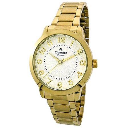 Relógio Champion Feminino Analógico Dourado CN25118H