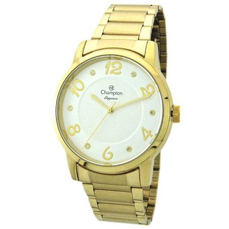 Relógio Champion Feminino Analógico Dourado CN26117H