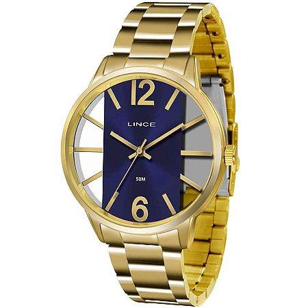 Relógio Lince Feminino Analógico Dourado LRG608LD2KX