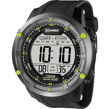 Relógio X-Games Masculino Digital Preto XMPPD421BXPX