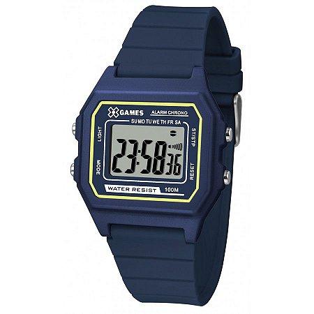 Relógio X-Games Unissex Digital Azul XGPPD108BXDX