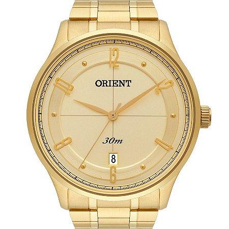 31d770b679d Relógio Orient Masculino Analógico Dourado MGSS1126C2KX - Estrela ...