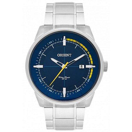 Relógio Orient Masculino Analógico Aço MBSS1295D1SX