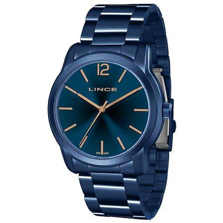 Relógio Lince Feminino Analógico Azul LRA4449LD2DX