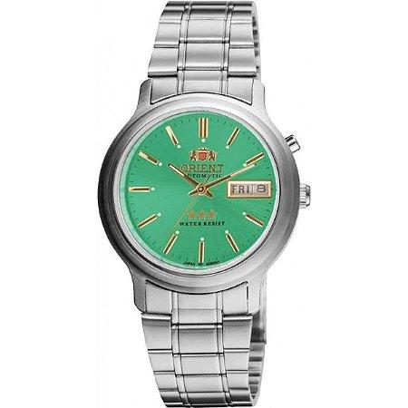 5ae73952fa8 Relógio Orient Masculino Automático Prata 469WA1AE1SX - Estrela ...