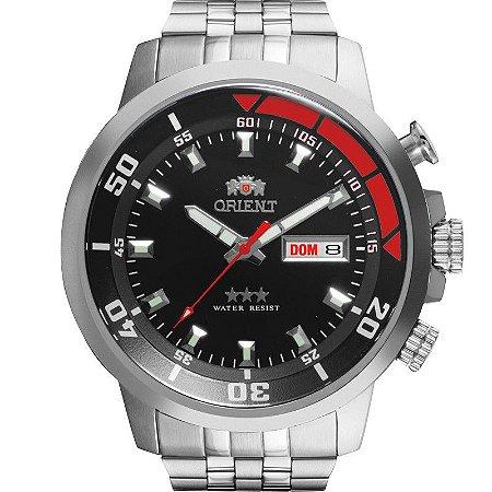 Relógio Orient Masculino Automático Prata 469SS058P1SX