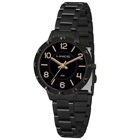 Relógio Lince Feminino Analógico Preto LRN4503LP2PX
