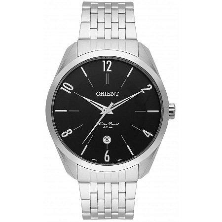 Relógio Orient Masculino Analógico Aço MBSS1300P2SX