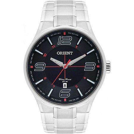 Relógio Orient Masculino Analógico Aço MBSS1306P2SX