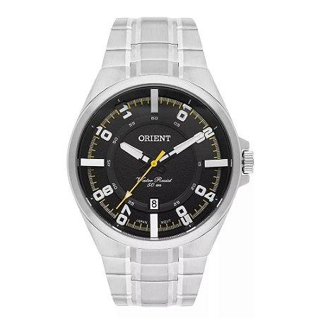 Relógio Orient Masculino Analógico Aço MBSS1335P2SX