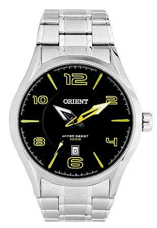 Relógio Orient Masculino Analógico Prata MBSS1318PYSX