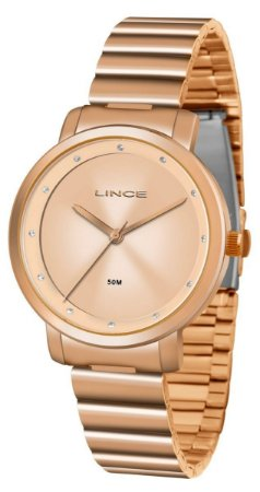 Relógio Lince Feminino Analógico Rosé LRR4483LR1RX