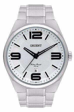 Relógio Orient Masculino Analógico Aço MBSS1326S2SX