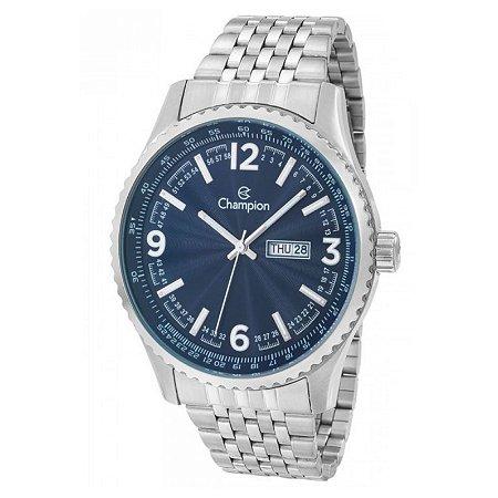 Relógio Champion Masculino Analógico Prateado CA31604F