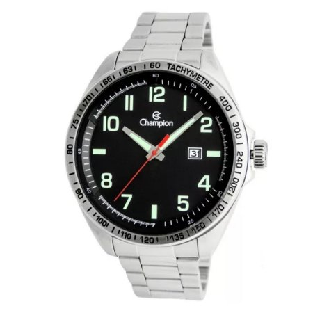 Relógio Champion Masculino Analógico Prateado CA31720T