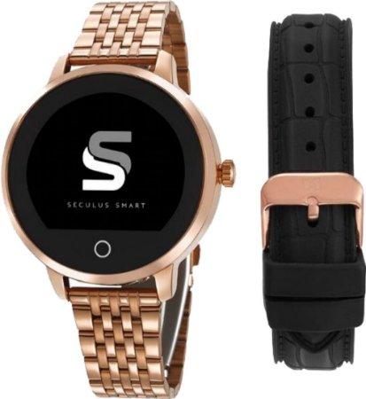 Relógio Seculus Feminino SmartWatch Rosé 79003LPSVRA1