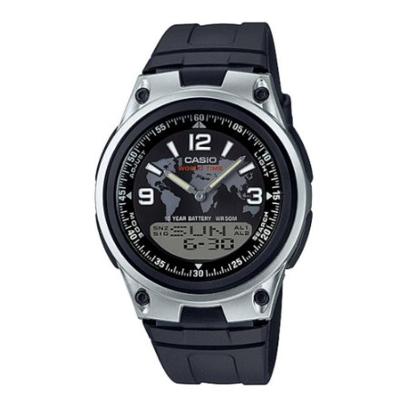 Relógio Casio Masculino AnaDigi Preto AW801A2VDF