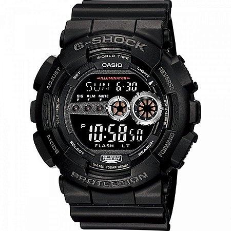 Relógio Casio Masculino Digital Preto GD1001BDRU