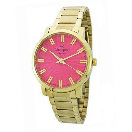 Relógio Champion Feminino Analógico Dourado CN26037L