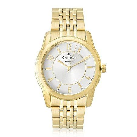 Relógio Champion Feminino Analógico Dourado CN26233H