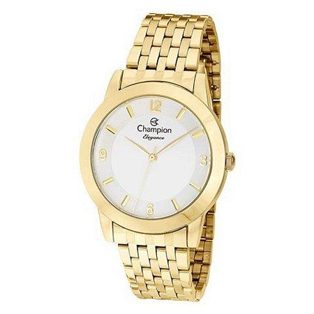 Relógio Champion Feminino Analógico Dourado CN26840W