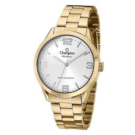 Relógio Champion Feminino Analógico Dourado CN29892X