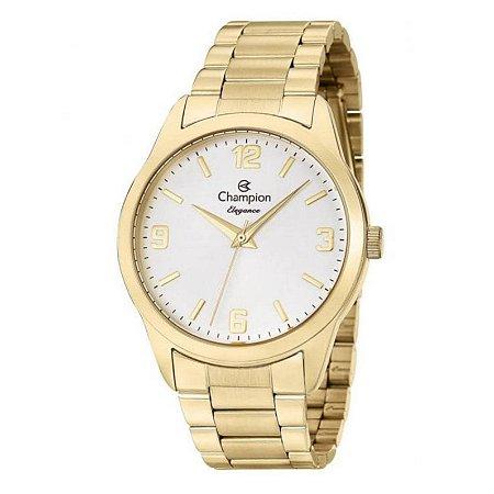 Relógio Champion Feminino Analógico Dourado CN26153H