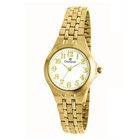 Relógio Champion Feminino Analógico Dourado CH24848H
