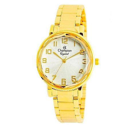 Relógio Champion Feminino Analógico Dourado CN25596H