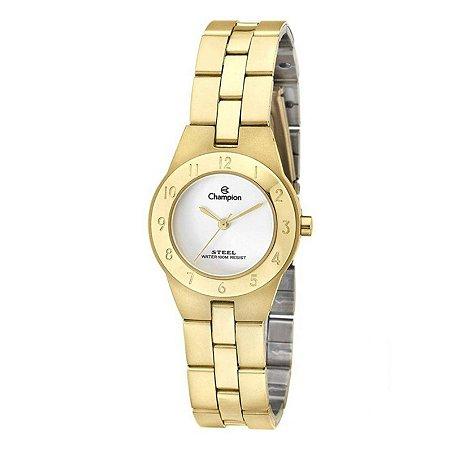 Relógio Champion Feminino Analógico Dourado CA28378H