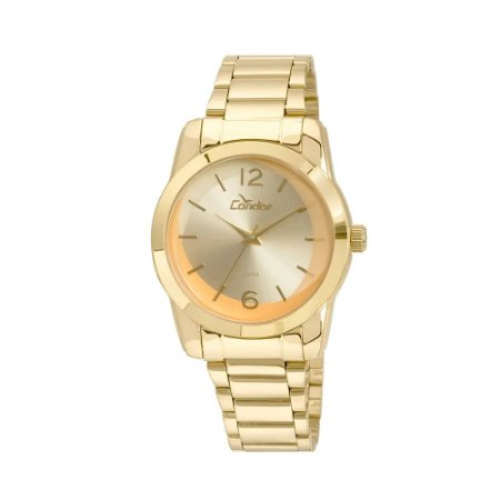 Relógio Condor Feminino Analógico Dourado CO2035KUC/4L