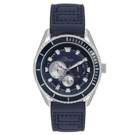 Relógio Condor Masculino Cronógrafo Azul CO6P29IO/2A