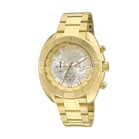 Relógio Condor Masculino Cronógrafo Dourado COVD54AN/4K