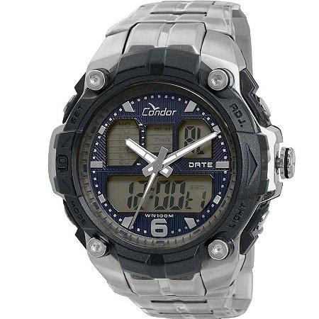 bc748b2376f Relógio Condor Masculino AnaDigi Prata COAD0912 3P - Estrela Joias ...