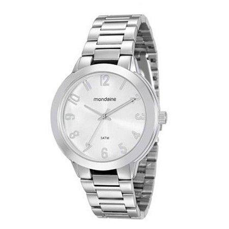 Relógio Mondaine Feminino Analógico Prata 53507L0MGNE1