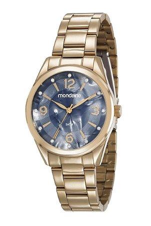 Relógio Mondaine Feminino Analógico Dourado 83386LPMVDE2 - Estrela ... d056fc7ae5