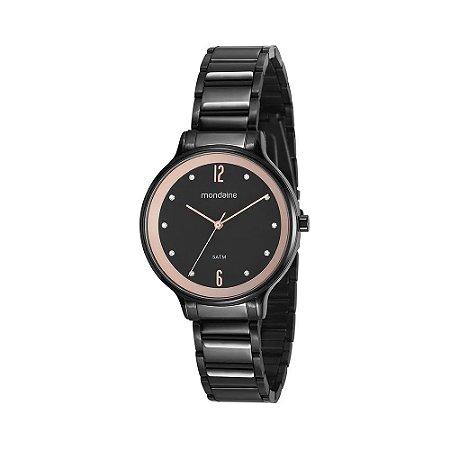 75ac3a17f7c Relógio Mondaine Feminino Analógico Preto 53626LPMVPE1 - Estrela ...