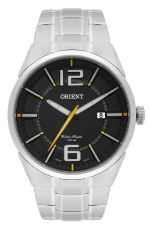 Relógio Orient Masculino Analógico Aço MBSS1327P2SX