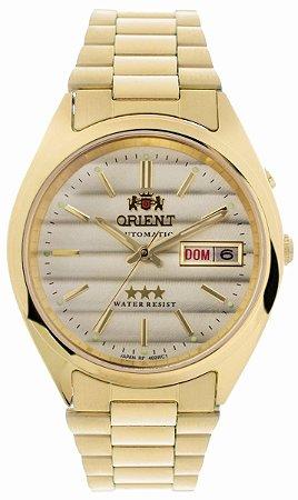 Relógio Orient Masculino Automático Dourado 469WC2C1KX