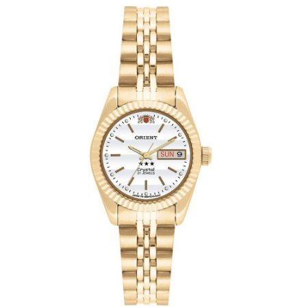 Relógio Orient Feminino Automático Dourado 559EB1XB1KX