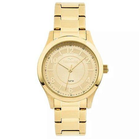 518bbfd25bf Relógio Technos Feminino Analógico Dourado 2035MFT 4X - Estrela ...