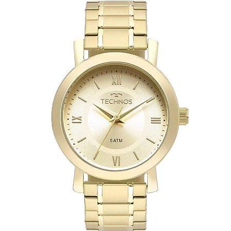 b7fc396ef9e Relógio Technos Feminino Analógico Dourado 2035MMS 4X - Estrela ...
