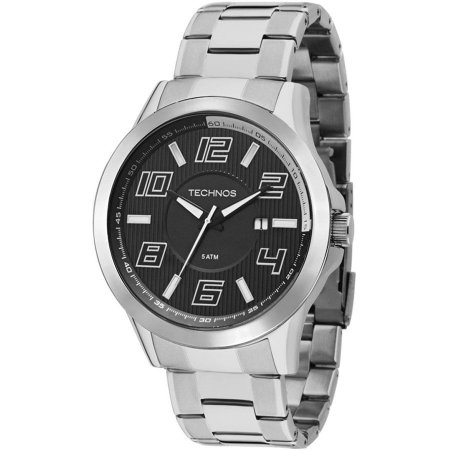 Relógio Technos Masculino Analógico Prata 2115KNE/1P