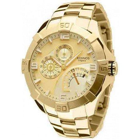 19b8ca6fad9 Relógio Technos Masculino Analógico Dourado JR00AH 4X - Estrela ...
