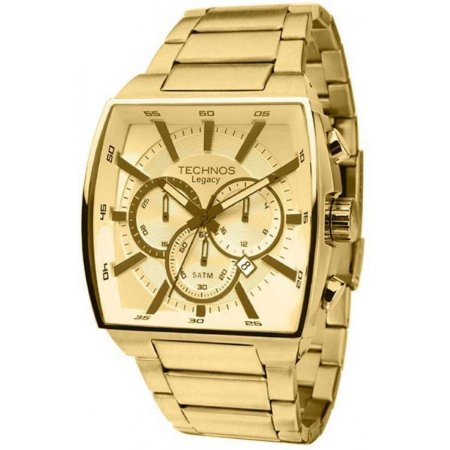 8f8328e128b Relógio Technos Masculino Analógico Dourado JS25AL 4X - Estrela ...