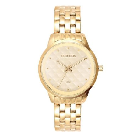 13b65a71a500d Relógio Technos Feminino Analógico Dourado 2035LWM 4X - Estrela ...