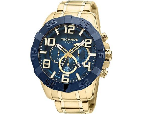 Relógio Technos Masculino Analógico Dourado OS20IQ/4A