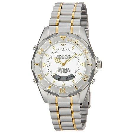 Relógio Technos Masculino Analógico Bicolor T20557/9B