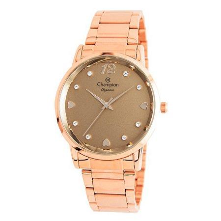 Relógio Champion Feminino Analógico Rosé CN24066R